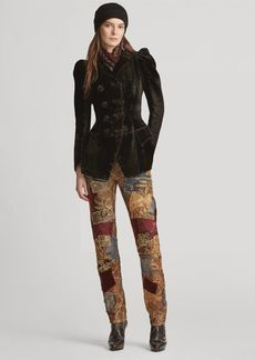 Ralph Lauren Kinsley Patchwork Jean