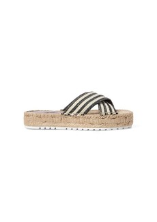 Ralph Lauren Kit Striped Espadrille