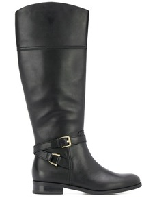Ralph Lauren knee-length round toe boots