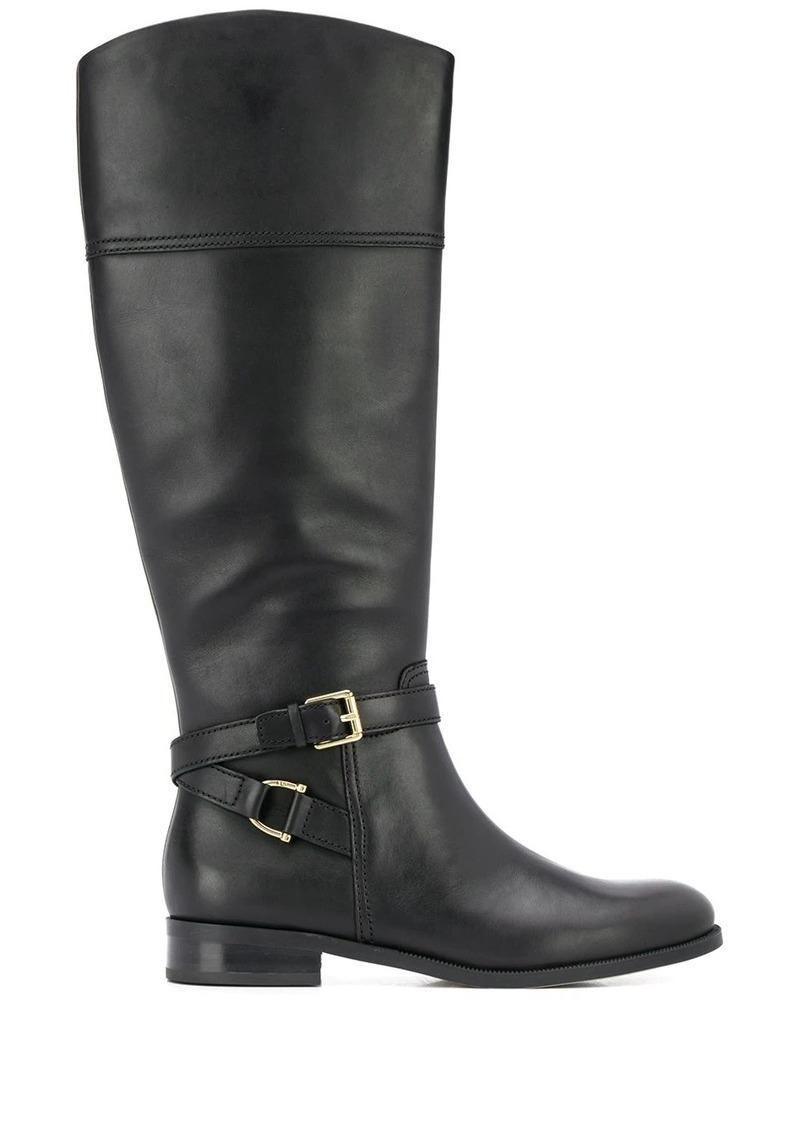 Ralph Lauren knee-length round toe boots