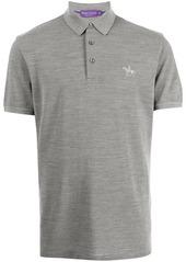 Ralph Lauren knight-embroidered polo shirt