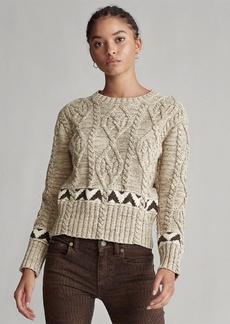 Ralph Lauren Knit Cotton-Blend Sweater
