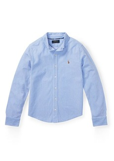 Ralph Lauren Knit Cotton Oxford Shirt