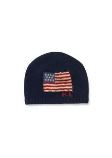 Ralph Lauren Knit Flag Hat