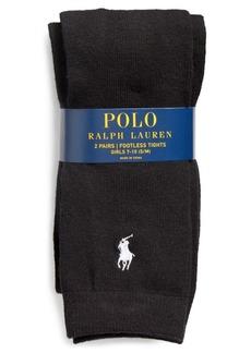 Ralph Lauren Knit Footless Tights