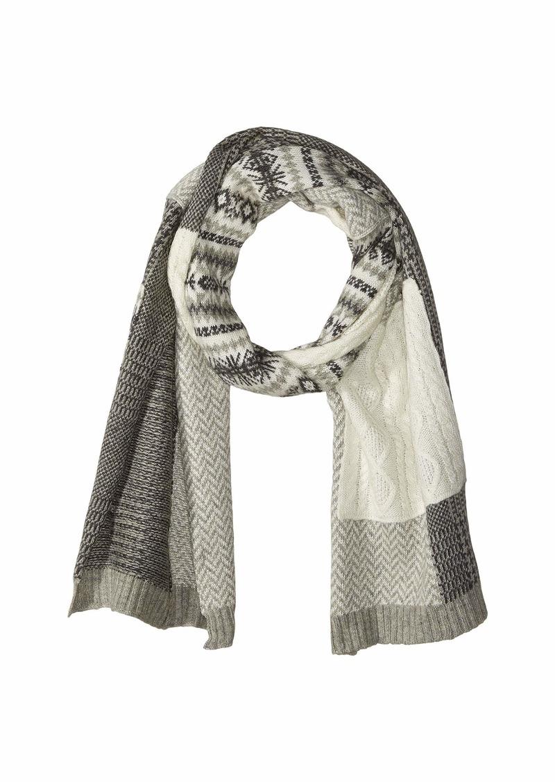 Ralph Lauren Knit Patchwork Scarf