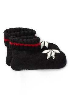 Ralph Lauren Knit Snowflake Booties