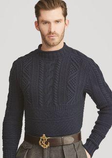 Ralph Lauren Knit Wool-Cashmere Jacket