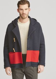 Ralph Lauren Knit Wool Toggle Jacket