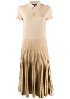 Ralph Lauren knitted polo midi dress