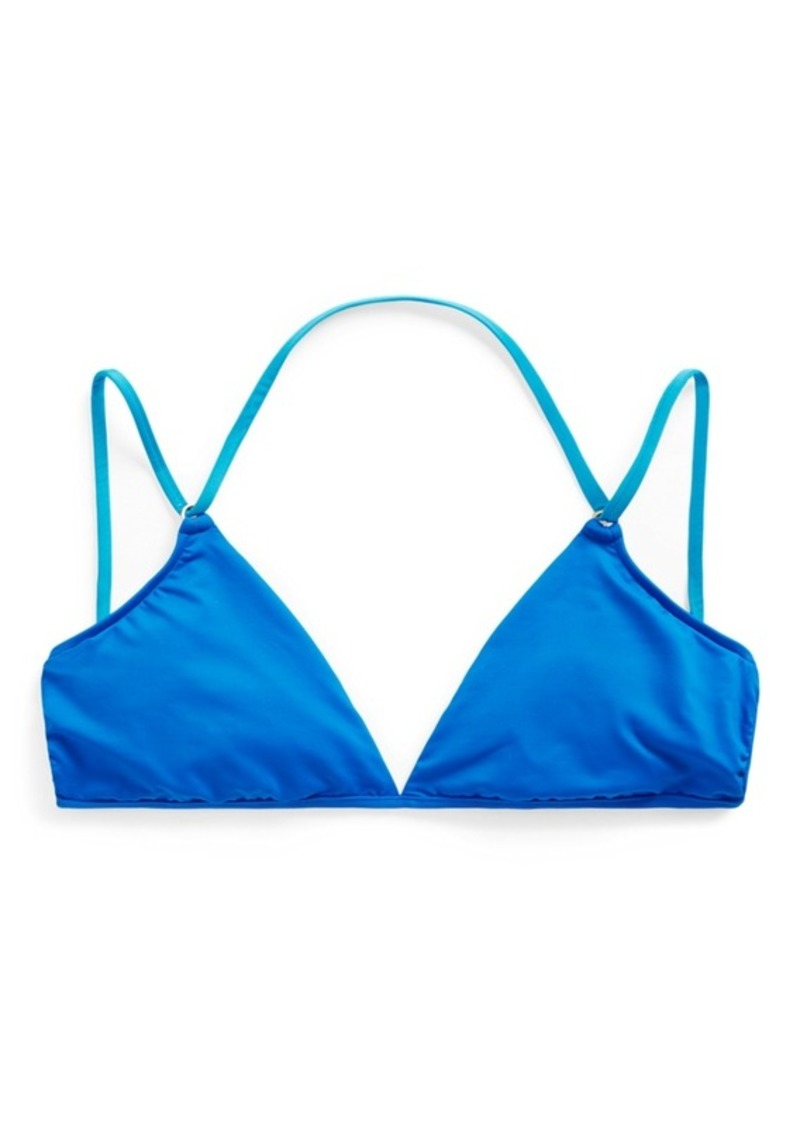 Ralph Lauren Lace-Back Bikini Top
