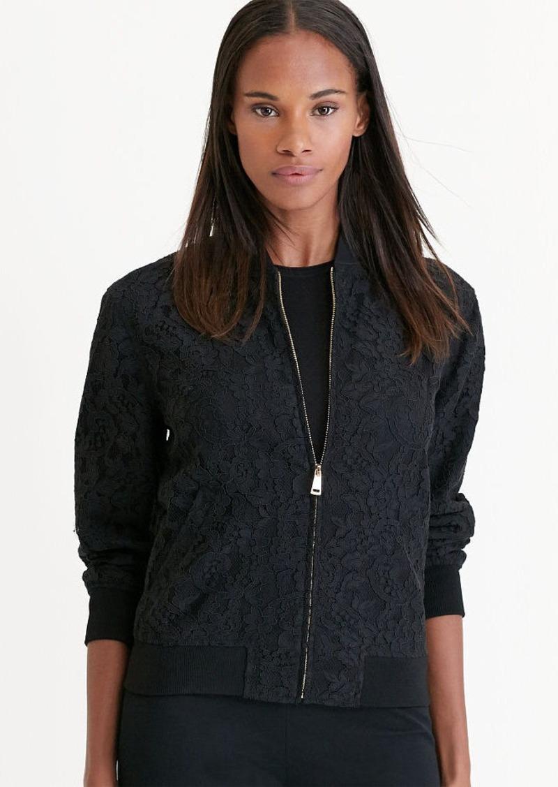 Ralph Lauren Lace Bomber Jacket