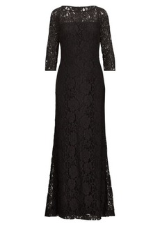 Ralph Lauren Lace Gown