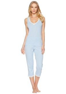 Ralph Lauren Lace Knit Capris Pajama Set