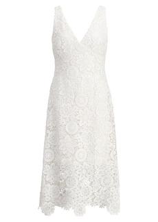 Ralph Lauren Lace Midi Dress