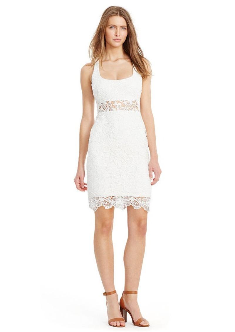 Ralph Lauren Lace Scoopneck Dress
