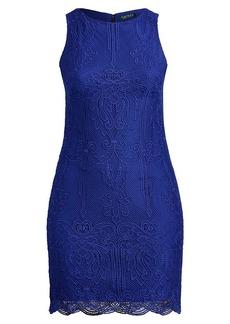 Ralph Lauren Lace Sleeveless Dress