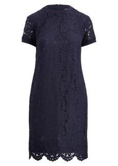 Ralph Lauren Lace T-Shirt Dress