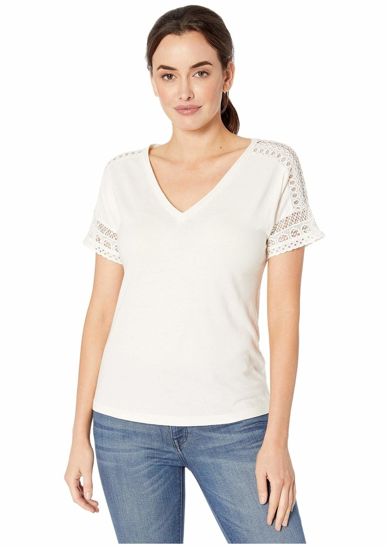 Ralph Lauren Lace-Trim Top