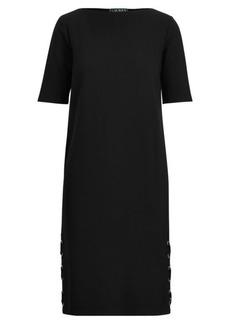 Ralph Lauren Lace-Up Ponte Dress
