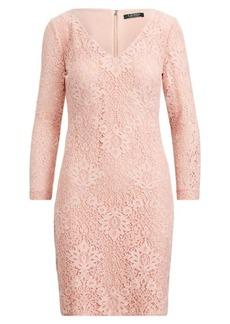 Ralph Lauren Lace V-Neck Dress