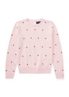 Ralph Lauren Ladybug Cotton Sweater