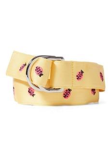 Ralph Lauren Ladybug Grosgrain Belt