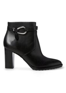 Ralph Lauren Laletta Leather Bootie
