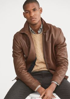 Ralph Lauren Lambskin Leather Jacket