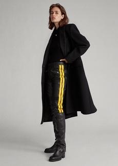 Ralph Lauren Striped Lambskin Pant