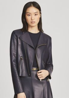 Ralph Lauren Landry Leather Jacket