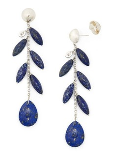 Ralph Lauren Lapis Drop Earrings