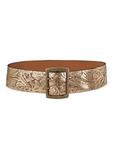 Ralph Lauren Laser-Cut Leather Belt