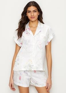 Lauren Ralph Lauren + Botany Print Satin Pajama Set