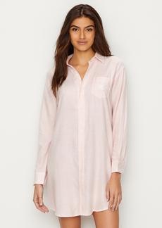 Lauren Ralph Lauren + Classic Stripe Woven Sleep Shirt