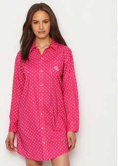 Lauren Ralph Lauren + Classic Woven Sleep Shirt