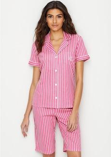 Lauren Ralph Lauren + Cotton Bermuda Pajama Set