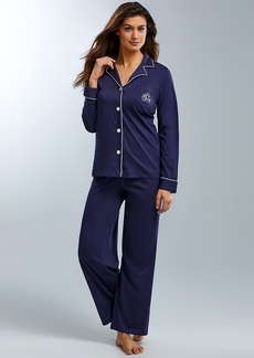 Lauren Ralph Lauren + Hammond Knit Pajama Set