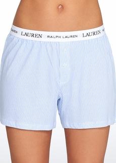 Lauren Ralph Lauren + Knit Sleep Boxer