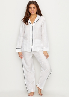 Lauren Ralph Lauren + Linen Pajama Set