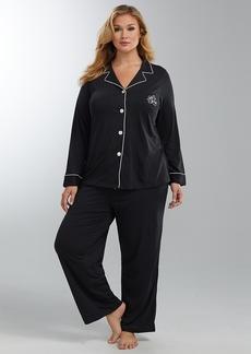 Lauren Ralph Lauren + Plus Size Hammond Knits Pajama Set