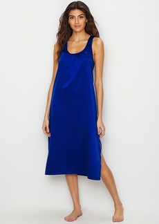 Lauren Ralph Lauren + Racerback Satin Night Gown