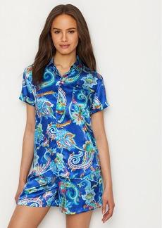 Lauren Ralph Lauren + Satin Woven Pajama Set