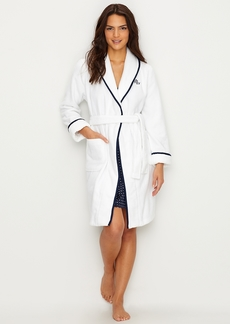Lauren Ralph Lauren + Short Shawl Collar Robe