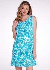 Lauren Ralph Lauren + Smocked Knit Gown