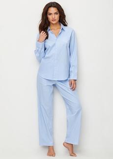 Lauren Ralph Lauren + Stretch Woven Pajama Set