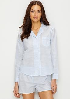 Lauren Ralph Lauren + Stripe Woven Pajama Set