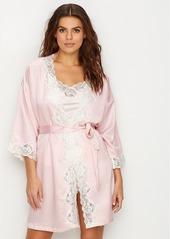 Lauren Ralph Lauren + Woven Satin Robe