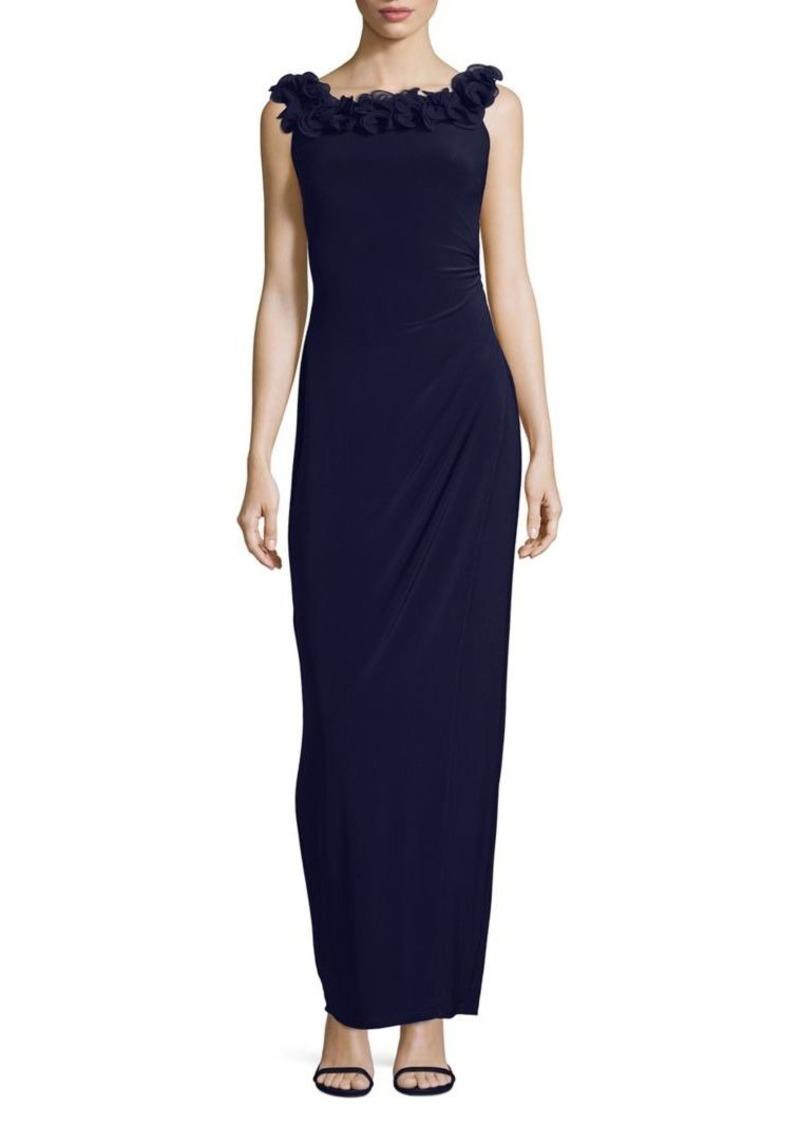 Ralph Lauren Lauren Ralph Lauren 3D Floral Evening Dress | Dresses