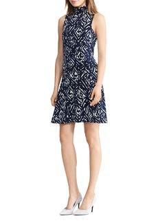 Lauren Ralph Lauren Abstract Print Dress